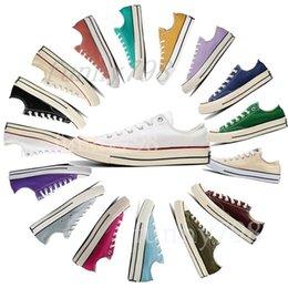 $enCountryForm.capitalKeyWord Australia - 2019 best Brand platform Chaussures star Vintage Pure color Canvas Shoes stars mens shoe women sneakers Casual shoes Size 36-441563792536049