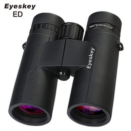 prism glasses Australia - Eyeskey ED Glass Objective Lenses High Definition Waterproof Binoculars Bak4 Prism Golden Magnification Hunting Telescope