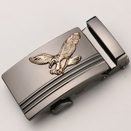 metal eagle Australia - Designer Belts for Men Eagle Metal Automatic Buckle for 3.5cm Ratchet Men Apparel Accessories Belt Buckles luxury fashion hg69