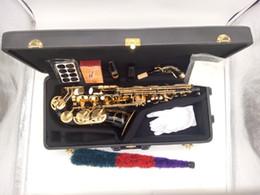 $enCountryForm.capitalKeyWord Australia - Japan Brand high quality YANAGISAWA A992 A-WO20 Alto Saxophone Eb Black paint Alto Sax With mouthpiece & bag free shipping