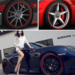 """Reflective Stickers Wheel Australia - Reflective Car Styling Car Stickers and Decals for 14"""" wheel rim Auto Car-styling sticker for vw etc."""
