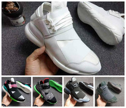 ff4cf63e6 Wholesale 12 Colors Y-3 QASA RACER Hight Casual Shoes Sneakers Breathable  Men and Women Casual Shoes Couples Y3 Shoes Size Eur36-44