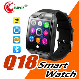 $enCountryForm.capitalKeyWord Australia - Q18 smart watch Bluetooth Watches DZ09 Wristwatch with Camera TF SIM Card Slot Pedometer Answer Call with Box for Android IOS iPhone Samsung