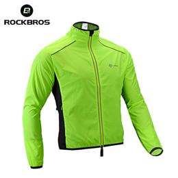 $enCountryForm.capitalKeyWord Australia - ROCKBROS Jacket Cycling Wind Jacket Bike Raincoat Cycling Rain Coat Jersey Bicycle Rainproof Windproof Quick Dry Coat