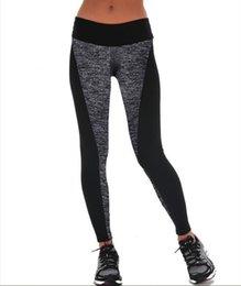 $enCountryForm.capitalKeyWord Australia - 2019 Europe And The United States New Ab Double-sided Black Gray Stitching Hip Elastic Xl Yoga Leggings