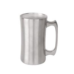 Steel Beer Australia - 20oz stainless steel beer mug with handle double wall vacuum big capacity beer cup for cocktail tea coffee W9926