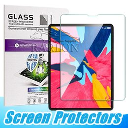 ipad pro 12.9 protector screen Australia - Premium Tempered Glass 0.3MM Screen Protector For iPad 2 3 4 6 Mini 5 2019 Air Air2 Pro 2018 9.7 10.5 12.9 inch