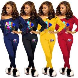 $enCountryForm.capitalKeyWord Australia - Women Designer Sweatsuit Hoodies+Leggings Two Piece Sets Long Sleeve Tracksuit Sportswear Trousers Skinny Pants Fall Winter Selling 1256