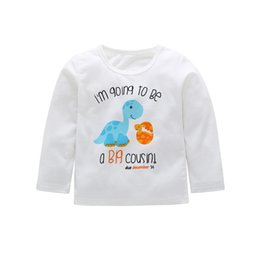 c104f383a943f 2019 Autumn New Baby Boy Baby Elephant Print Long Sleeve T-Shirt Toddler  Child Winter Cotton Warm Top