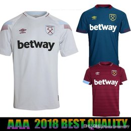 12d131eb0aad West Ham United 18-19 third Football Jersey Arnautovic Lanzini Snodgrass  Noble Carroll Chicharito Ayew Home Away 18 19 Soccer Shirt