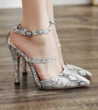 $enCountryForm.capitalKeyWord NZ - In the summer of 2019 the new European and American fashion heel shoes serpentine pointed show white high-heeled sandals hollow out shoes