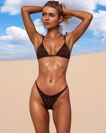 cc7923e30f511 Brazilian Swimsuit Brands Australia - Brand Swimwear Women Swimsuit Sexy  Push Up Micro Leopard Bikinis Set