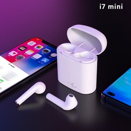 $enCountryForm.capitalKeyWord Australia - i7 Mini TWS Wireless Bluetooth 5.0 Earphone Pop Up Windows Double Earbuds With Charging Box Mic Sport Headset for xiaomi huawei phone