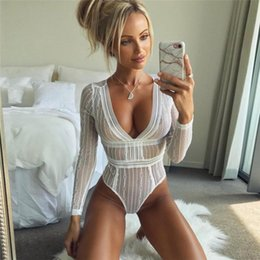 681fe89edb Big lazy cat Women Sexy Lingerie Sexy Underwear Costumes Sexy One Piece  Lingerie Women Halter Sheer Lace Teddy 2019 NEW