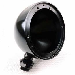 Speaker Base Australia - 1 Pair Alto Speaker Aluminum Base 3.5Inch Midrange Speaker Box Speakers Black 3.5'' car