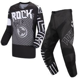 $enCountryForm.capitalKeyWord UK - ROCK BIKER MX KILA Motocross Gear Set Mountain Downhill Dirt Bike Racing Combos Bicycle Motorcycle Cycling Clothing XC Jersey MTB Pants