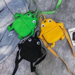 $enCountryForm.capitalKeyWord Canada - Lucky2019 Exceed Ins Fire Canvas Small Bag Woman Lovely Frog Single Shoulder Package Girl Oblique Satchel