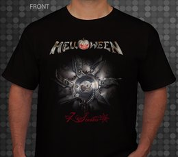Gifts Blind Australia - HELLOWEEN-7 Sinners-power metal band-Blind Guardian, T_shirt-sizes:S to 7XLFunny free shipping Unisex Casual gift