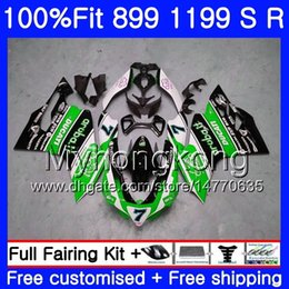 29 r NZ - Injection For DUCATI 899 1199 Panigale S R 2012 2013 2014 2015 2016 325HM.29 899R 1199R 899S 1199S 12 13 14 15 16 OEM Fairing factory green
