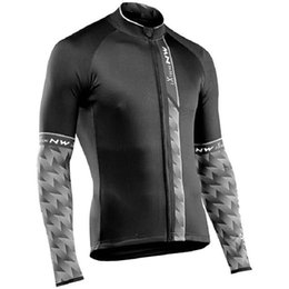 Bicycle Riding Shirts NZ - 2018 New Men NW Northwave Cycling Jersey Autumn Long Sleeve Riding Tops MTB Bike Shirts Road Bicycle Clothing Maillot Ciclismo 120405Y