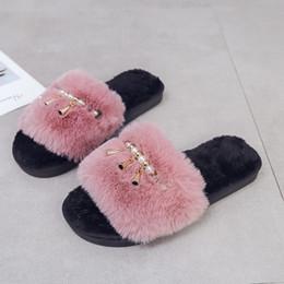 $enCountryForm.capitalKeyWord Australia - MoneRffi 2019 Home Slippers Woman Soft Plush Shoes Pantufa Coral Velvet Warm Shoes For Women Winter Indoor Cotton Slipper