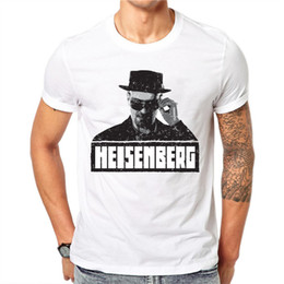 Broken Bad Australia - good quality 2019 New Fashion Breaking Bad T Shirts Men Heisenberg Short Sleeve Cotton T-shirts Man Camisetas Hombre Cool T-shirt
