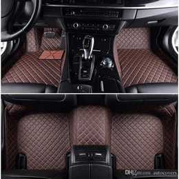 Make Custom Cars NZ - Custom Fit Car Floor Mats Specific Waterproof PU Leather ECO friendly Material For Vast of Car Model and Make Full set Mats
