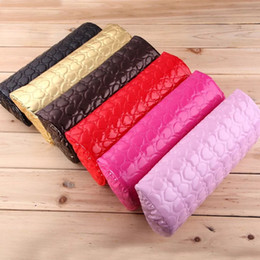 Pillows arms online shopping - Nail Art Pillow for Manicure Hand Arm Rest Pillow Cushion PU Leather Holder Soft Manicure Nail Tool Equipment