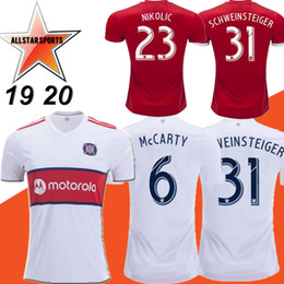 634d4a7e3 New 2019 MLS Chicago Soccer Jersey 19 20 Home white SCHWEINSTEIGER  FRANKOWSKI MIHAILOVIC McCARTY NIKOLIC Soccer Shirts Away Football uniform
