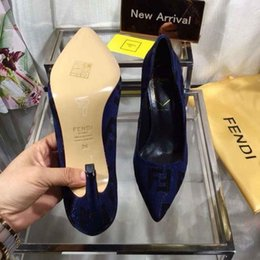 Shoe Brands For Women NZ - 2019 elegant dress shoes for women genuine leather and high heels shoes perfect and brand quality