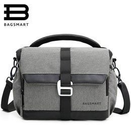 Dslr Cameras Bags Australia - shoulder bags BAGSMART Waterproof Case Bag for Canon Digital SLR   DSLR Compact Camera Messenger Shoulder Bag Camera Case To Travel