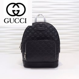 satin fabric rolls Canada - dfkjhldfk GY74 M450967 New Fashion Black Embossed G Backpack MEN FASHION BACKPACKS BAGS MESSENGER BAGS SOFTSIDED ROLLING BAG