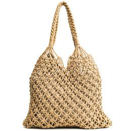e029d7556 good quality Woven Beach Bags Women Summer 2019 Bolso Grande Casual Tote  Bolsa Shoulder Handbags Set Women Bag Designer Composite Bag