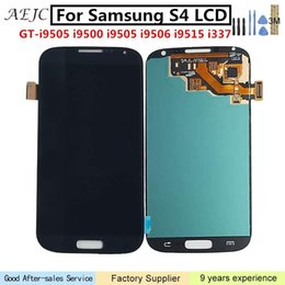 "Lcd Display Touch Screen Digitizer S4 Australia - Super OLED For Samsung S4 i9500 i9505 i337 i9506 GT-i9505 LCD Display Touch Screen Digitizer Assembly 5"" For Samsung S4 Screen"