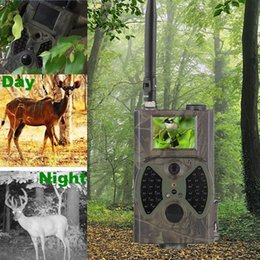 12MP 940nm Avcılık Kameralar YOK Glow Yeni Trail Kameralar MMS Siyah IR Yaban Hayatı Tuzak Oyunu Yeni HC300M Güncelleme Sistemi