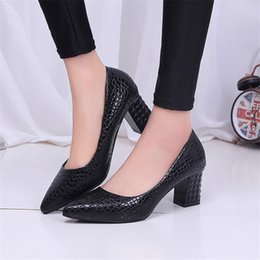 55e1f9b2f46 Female Pumps Nude Shallow Mouth Women Shoes Fashion Office Work Wedding  Party Shoes Ladies Low Heel Shoes 6cm Woman Autumn