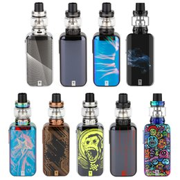 $enCountryForm.capitalKeyWord UK - Vaporesso Luxe S 220W Touch Screen TC Kit with 8ml SKRR-S Atomizer 510 thread Box mod QF Strips Coil e cigs top refill kit vape