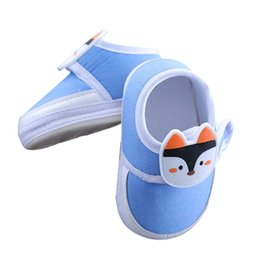 baby cow cartoon 2019 - Baby Shoes Baby Boy Girl Breathable Cartoon Animal Pattern Anti-Slip Shoes Casual Walking Shoe Toddler Soft Soled First