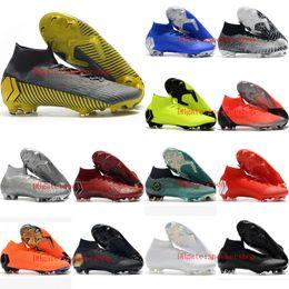 Cr7 Ronaldo Boots Australia - 2019 mens soccer shoes Mercurial Superfly VI 360 Elite CR7 FG soccer cleats Crampons de football boots SuperflyX Ronaldo scarpe calcio