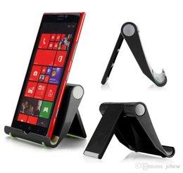 Ingrosso Supporto universale pieghevole universale per desktop a tre colori Tablet PC Stent portatile portatile stent portatile