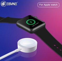 Опт Беспроводное зарядное устройство для Apple Watch 1/2/3/4 USB быстрая беспроводная зарядка 1 м Кабель