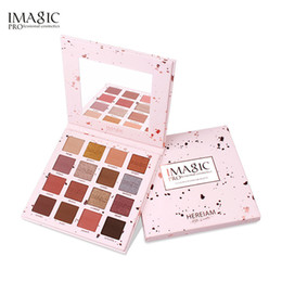 $enCountryForm.capitalKeyWord Australia - 16 Colors IMAGIC Pink pop Eyeshadow Palette Matte Glitter Palette Luxury Make Up Set Long Lasting Beauty Products
