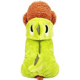 $enCountryForm.capitalKeyWord UK - Dog clothes Teddy small dog costume cat pet autumn four feet warm dinosaur dress