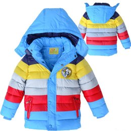 $enCountryForm.capitalKeyWord Australia - European Style Winter Jacket Casual Kids Boys Winter Jacket Boy Fashion Winter Jacket For Kids Striped Children Clothes