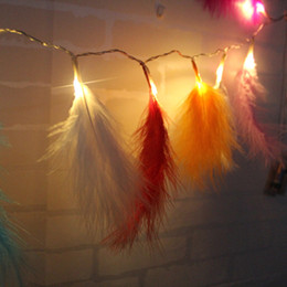 $enCountryForm.capitalKeyWord NZ - Feather Led String Fairy Light String Xmas Party Home Wedding Garden Garland Christmas Decorations D6
