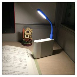 Mini USB Led Lámpara de Mesa Libro de Lectura Gadgets de Luz Luces Nocturnas Flexibles Lámpara de Mano USB para Power PC Portátil Portátil Hogar Caliente en venta