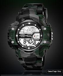 $enCountryForm.capitalKeyWord NZ - Reloj Digital Men's Watches Multi Function Sports Watch LED Digital Dual Movement Wrist Watch Buckle Round Glass Clock