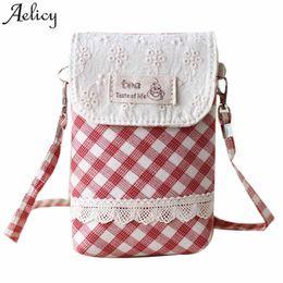 878f522d4ed Cheap Fashion Aelicy High quality Cotton Crossbody Bag Small Designer for  Women Fresh Lace Girls Shoulder Bags for Woman 2019 bolsa feminina