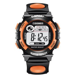 Chinese  Fashion COOBOS electronic watch multi-function children students outdoor waterproof sports watches mens boys girls sport led digital watch manufacturers