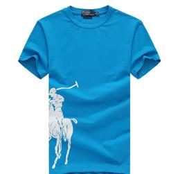 Polo Ralph T 22 di colore 19ss Lauren bavero Paul colore solido ricamo Corona tshirt di affari del cotone allentato maglietta superiore di qualità della novità A1 in Offerta